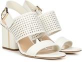 Via Spiga Wrapped Heel Leather City Sandals - Harriett 2