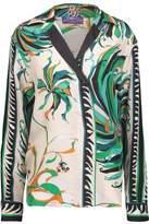 Emilio Pucci Printed Silk-Satin Twill Shirt