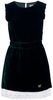 Fix Design Sleeveless velvet dress