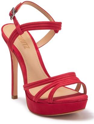 Schutz Bogga Platform Stiletto Sandal