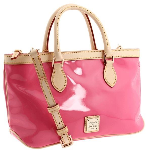 Dooney & Bourke Beauty East/West Handle Top Zip (Pink) - Bags and Luggage