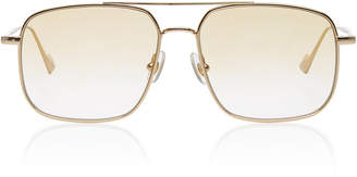 SUNDAY SOMEWHERE Andy Aviator-Style Metal Sunglasses Sunglasses