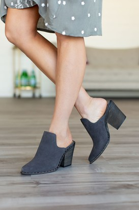 Chinese Laundry Springfield Mules - Charcoal