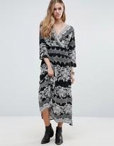 Raga Bonnie Printed Smock Dress
