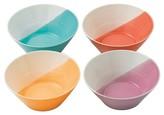 Royal Doulton 1815 Porcelain 16oz. Noodle Bowls Set of 4 Mixed Patterns