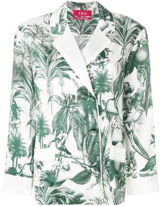 F.R.S For Restless Sleepers tropical print top
