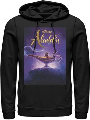 Disney Disney's Aladdin Men's Lamp Poster Graphic Hoodie