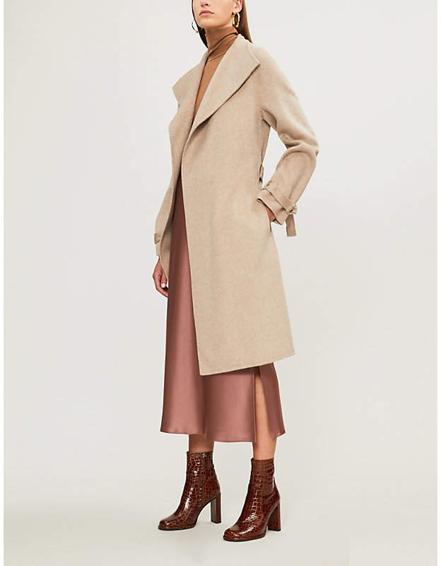 3cf52c76abe Joseph Wool Cashmere Coat - ShopStyle