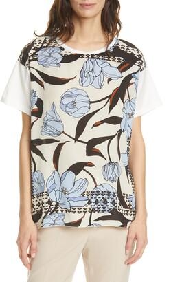 SEVENTY VENEZIA Seventy Floral Front Cotton Top
