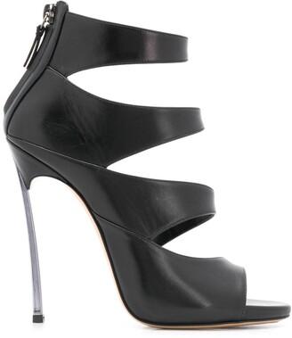 Casadei 125mm Open Toe Sandals