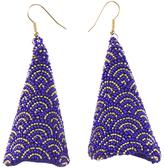 Forest of Chintz Blue Print Kakigori Earrings