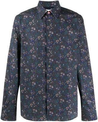 Paul Smith Floral Print Tailored Shirt