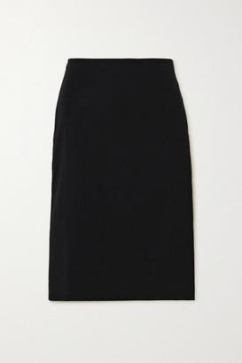 Coperni Cutout Cotton-blend Skirt - Black