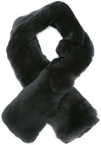N.Peal fur neck warmer - women - Rabbit Fur/Cashmere - One Size