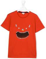 Paul Smith monster print T-shirt - kids - Cotton - 14 yrs