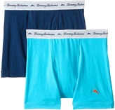 Tommy Bahama Solid Stretch Cotton Comfort Boxer Briefs 2-Pack
