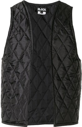 Comme des Garcons Quilted Open Gilet