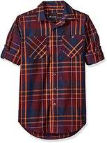 Akademiks Men's Grand Woven Shirt
