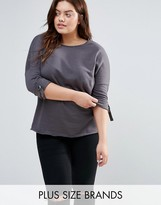 New Look Plus New Look Curve Batwing Sweat Top