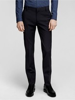 Calvin Klein Collection Bonded Wool Slim Pant