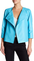 Lafayette 148 New York Leather Odene Blazer