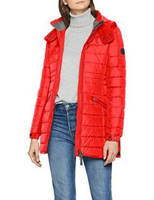 Marc O'Polo Women's 808098771163 Coat, (Lipstick Red 344)