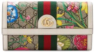 Gucci Flora Print Wallet