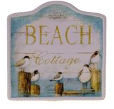 "Certified International Beach Cottage"" 13-in. Serving Platter"