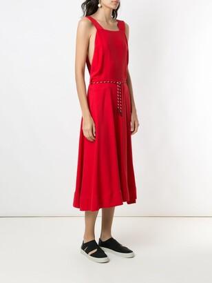OSKLEN Plain Midi Dress