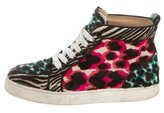 Christian Louboutin Rantus Orlando High-Top Sneakers