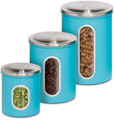 Honey-Can-Do 3-Piece Nested Kitchen Storage Canister Set