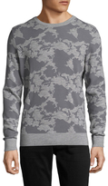 J. Lindeberg Fred Camouflage Wool Sweater