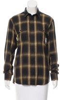 IRO Plaid Button-Up w/ Tags