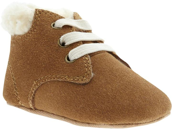 Old Navy Suede Sherpa-Lined Shoes