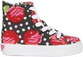 LK Embellished Canvas Sneakers For Lvr
