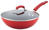 Rachael Ray Hard Enamel Non-Stick Covered Stir Fry Pan