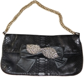 Chloé Python Clutch Bag