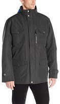 London Fog Men's Brogan Three-In-One Field Coat with Hidden Hood