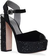 Gina Caudalie Embellished Sandals