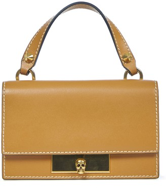 Alexander McQueen Mini Skull Lock Hand Bag