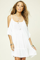 Forever 21 FOREVER 21+ Boho Me Open-Shoulder Tunic