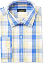 Club Room Men's Classic/Regular Fit Check Dress Shirt, Only at Macy's
