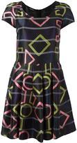 Emporio Armani geometric print dress