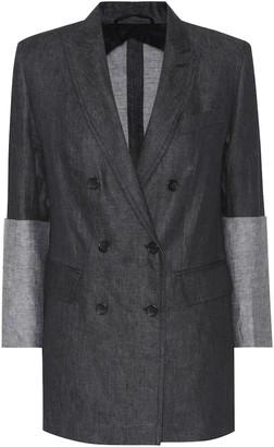 Max Mara Mentino linen blazer