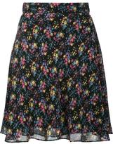 Saint Laurent Prairie Floral Print Skirt