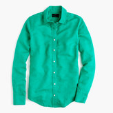 J.Crew Perfect shirt in cotton-linen
