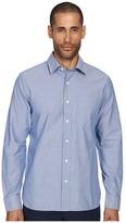 Jack Spade Grant Stripe Dobby Point Collar Shirt Men's Clothing