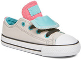 Converse Chuck Taylor All Star Double Tongue Sneaker (Baby, Walker & Toddler)