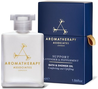 Aromatherapy Associates Support Lavender & Peppermint Bath & Shower Oil (55ml)