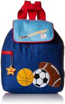 Stephen Joseph Quilted Backpack, Blue